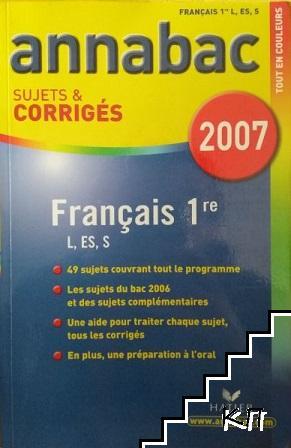 Annabac sujets & corrigés 2007