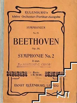 Beethoven. Symphonie No. 2