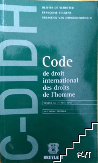 Code de droit international des droits de l'homme