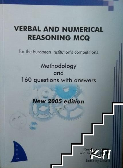 Verbal and numerical reasoning MCQ for the European Institution's competitions