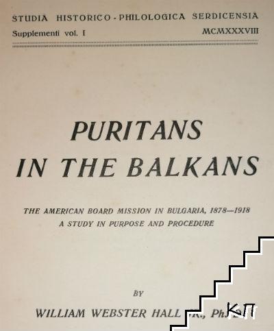Puritans in the Balkans
