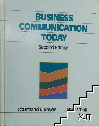 Business Comunication Today