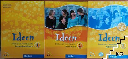 Ideen 1. Kursbuch / Ideen 1. Arbeitsbuch / Ideen 1. Lehrerhandbuch + CD