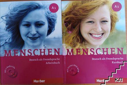Menschen. Arbeitsbuch A1 mit 2 Audio-CDs / Menschen sechsbandige Ausgabe. Kursbuch A1.1 mit DVD-Rom