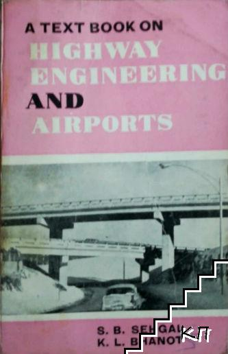 A text book on highway engineering and airports