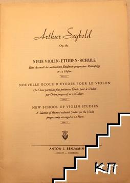 Neue Violin Etüden Schule. Heften 12: Op. 182