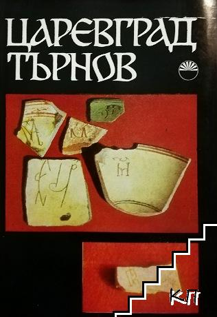 """Царевград Търнов. Том 4: Средновековни надписи, монограми, букви и знаци от търновската """"Велика Лавра"""""""