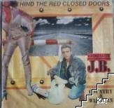 Behind the red closed doors