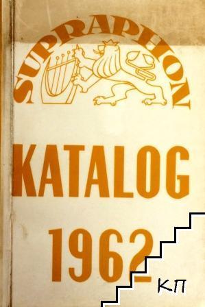 Katalog 1962