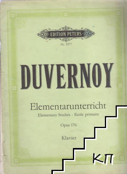 Elementarunterricht. Opus 176