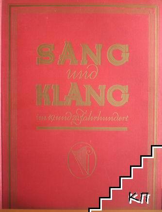 Sang und Klang im XIX und XX Jahrhundert. Band 7
