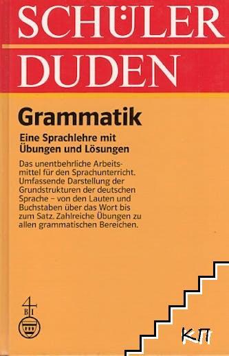Schüler Duden: Grammatik
