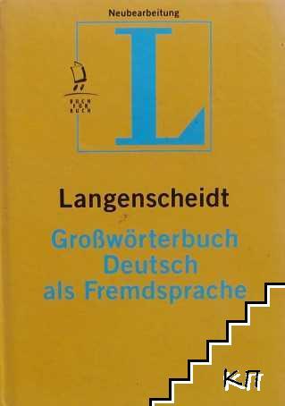 Langenscheidt. Grosswörterbuch Deutsch als Fremdsprache