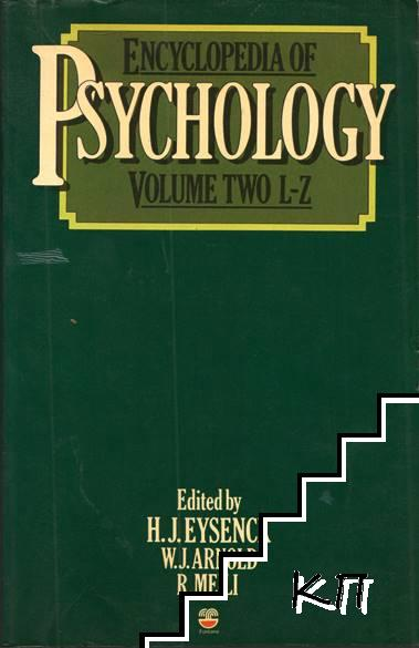 Encyclopedia of Psychology. Vol. 2: L-Z