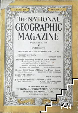 The National Geographic magazine. December / 1928