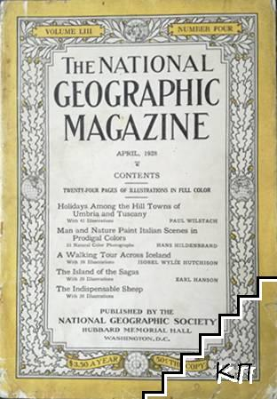 The National Geographic magazine. April / 1928