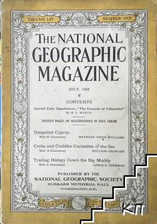 The National Geographic magazine. July / 1928