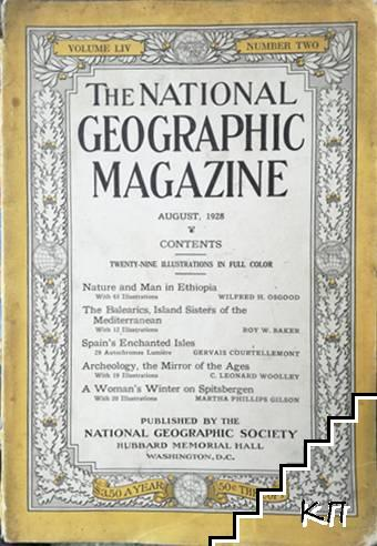 The National Geographic magazine. August / 1928