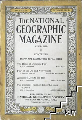 The National Geographic magazine. April / 1927