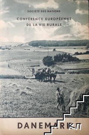 Société des nations. Conférence européenne de la vie rurale: Danemark