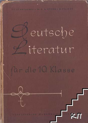 Deutsche Literatur für die 10. klasse
