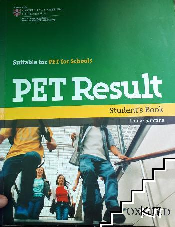 Pet Result. Student's book