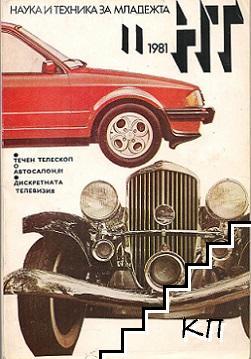 Наука и техника за младежта. Бр. 11 / 1981