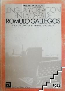 Lengua Y Creacion En Obra De Romulo Gallegos
