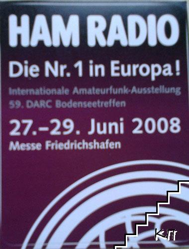 HAM Radio. Немски стикери
