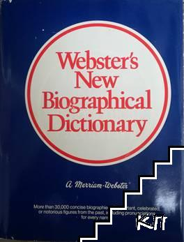 Webster's New Biographical Dictionary