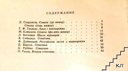 Сонатины и вариации для фортепиано для 7 класса. Вып. 2: Педагогический репертуар