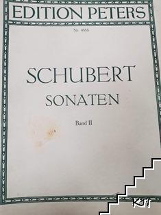 Schubert Sonaten für Klavier zu 2 Händen, Band 2
