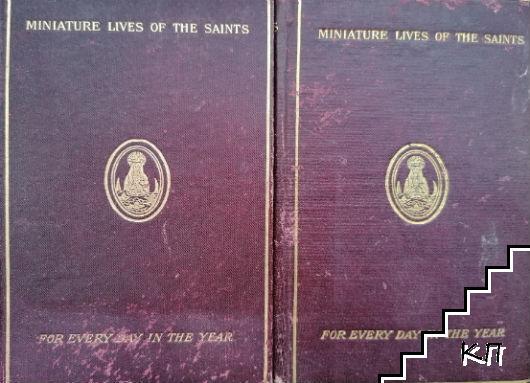 Miniature lives of The Saints. Vol. 1-2