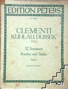Clementi Kuhlau, Dussek, etc. Band 1