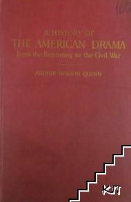 A History of the American Drama