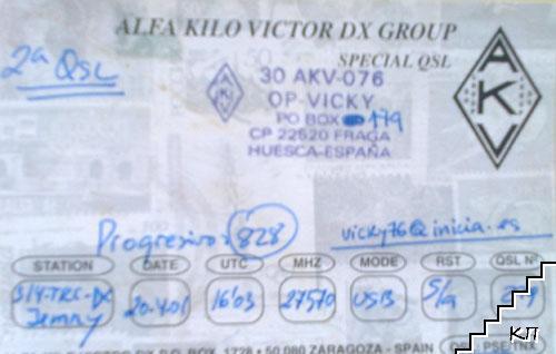 Alfa Kilo Victor