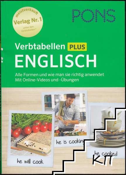 Verbtabellen Plus Englisch: Alle Formen und wie man sie richtig anwendet. Mit Online-Videos und -Übungen