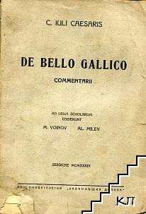 De bello gallico commentarii