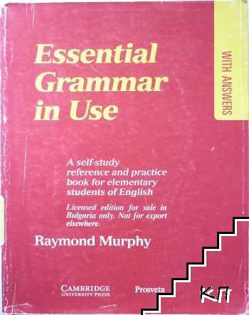 Essenzial Grammar for Use