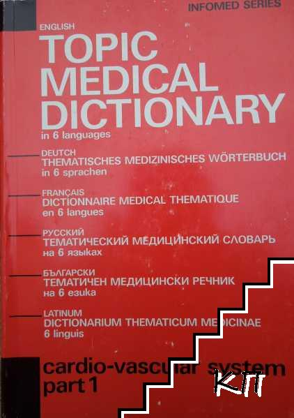 Topic Medical Dictionary in 6 languages. Part 1: Cardio-vascular system