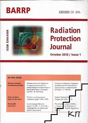 Radiation Protection Journal. October / 2013