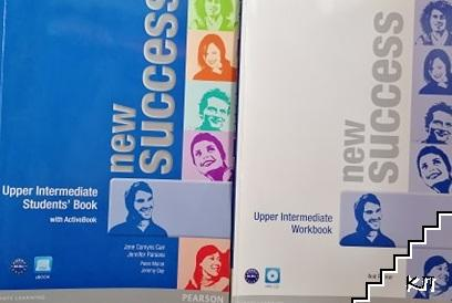 New Success Upper intermediate Students book with ActiveBook + Workbook