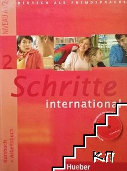 Schritte international 2 A1/2. Kursbuch + Arbeitsbuch
