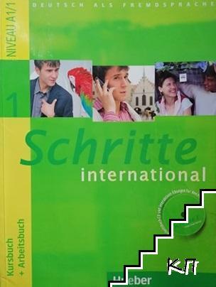 Schritte international A1/1. Kursbuch + Arbeitsbuch