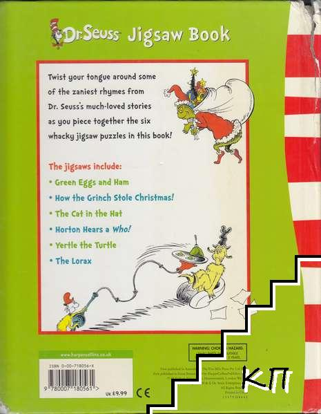 Green Eggs and Ham and Other Stories: Dr Seuss Jigsaw Book