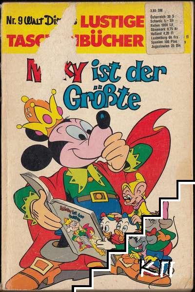 Walt Disneys Lustige Taschenbücher. № 9: Micky ist der Größte