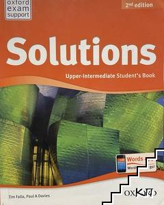 Solutions. Upper-Intermediate student's book