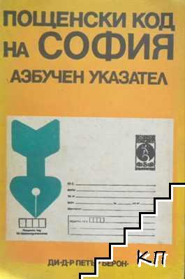 Пощенски код на София. Азбучен указател