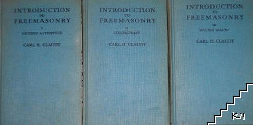 Introdution to freemasonry. Book 1-3