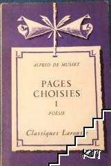 Pages choisies. Partie 1: Poesie